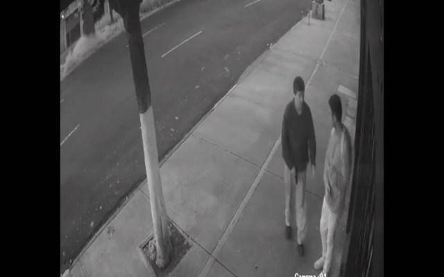 #Video Asaltan a joven en Avenida Universidad - Captura de Pantalla