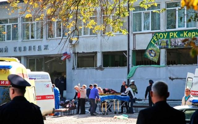 Ataque en secundaria deja 18 muertos en Rusia - Foto de KERCH.FM / AFP