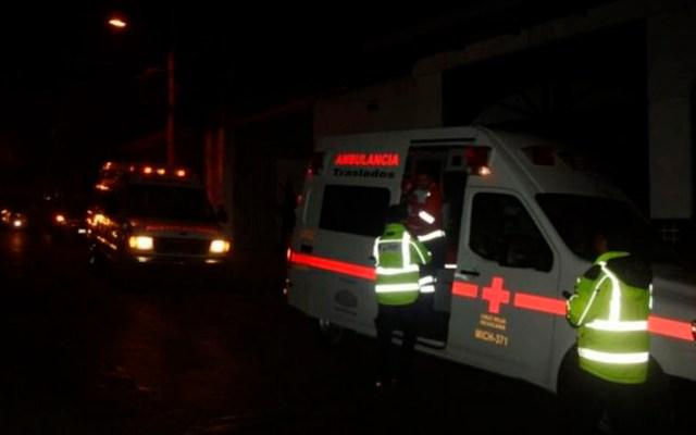 #Video Linchan a dos hombres tras atropellar a peregrinos en Chalco - Foto Especial