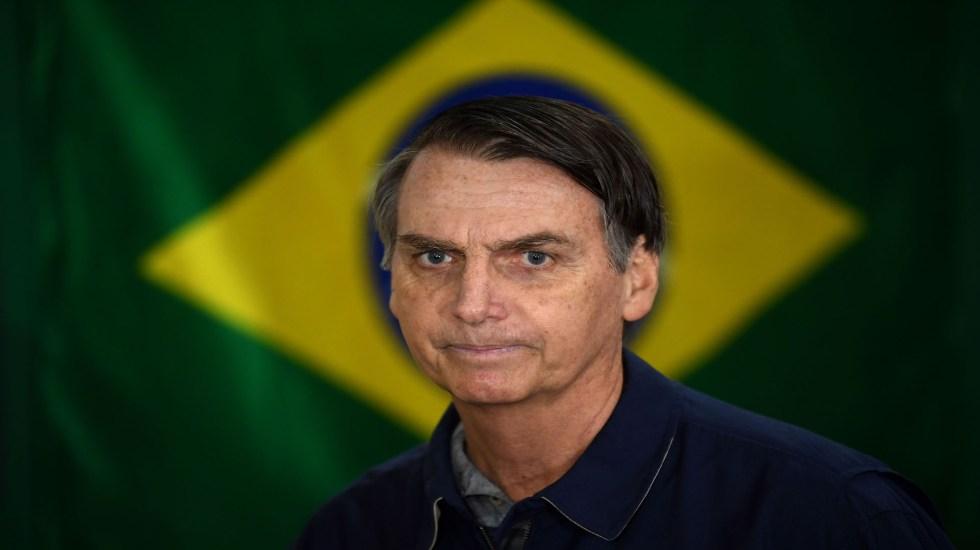 Bolsonaro puede arruinar su mejor oportunidad: NY Times - Jair Bolsonaro en Rio de Janeiro, el 8 de octubre de 2018. Foto de Mauro PIMENTEL / AFP.