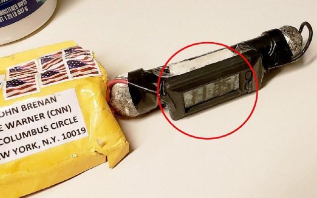 Sospechoso de enviar bombas por correo comparece en corte de NY - Bomba enviada a la redacción de CNN. Foto de Daily Mail
