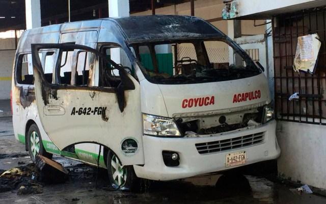 Ataque a sitio de camionetas deja un herido en Acapulco - Foto de @LaRojaGuerrero