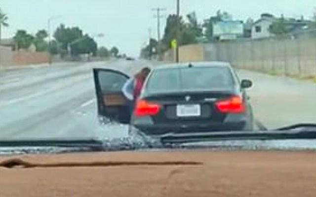 #Viral Madre atrapa a su hijo conduciendo el BMW de la familia - Madre descubre a su hijo conduciendo su bmw
