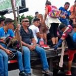 México detendrá y deportará a migrantes indocumentados ante caravana - Foto de AFP