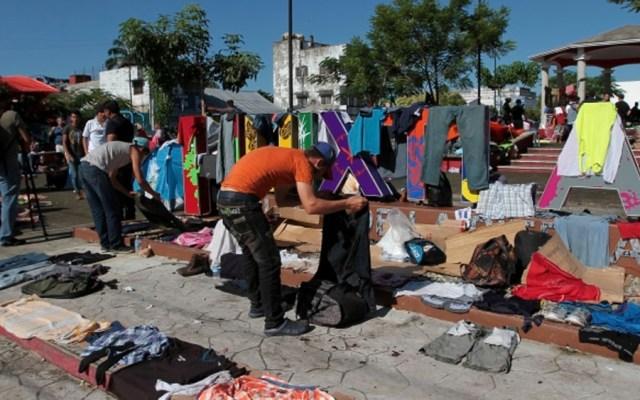 Caravana migrante se dirige a Escuintla - Foto de Notimex