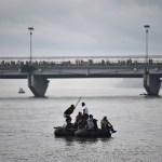 Presidentes de México, Honduras y Guatemala analizan plan para atender a migrantes - Foto de AFP