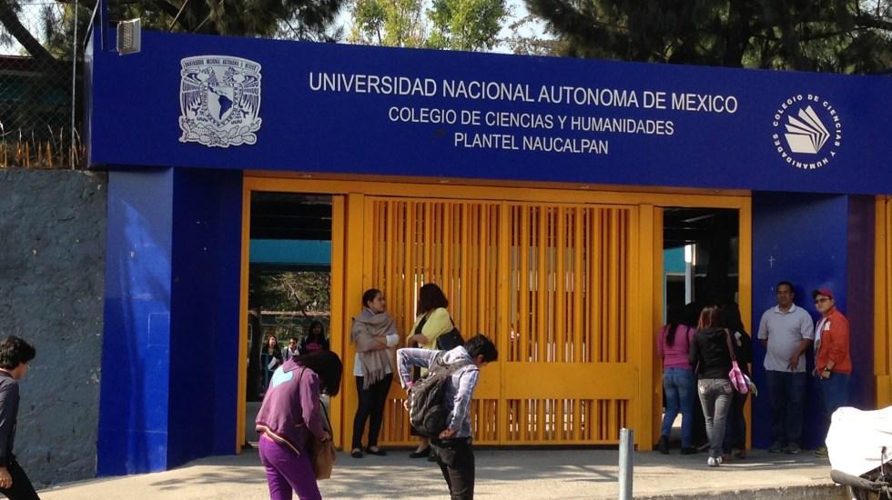 Denuncian presunta agresión a vocera del CCH Naucalpan; UNAM investiga - CCH Naucalpan. Foto de internet.