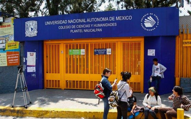 #Video Estudiantes del CCH Naucalpan rechazan paro de labores - cch naucalpan