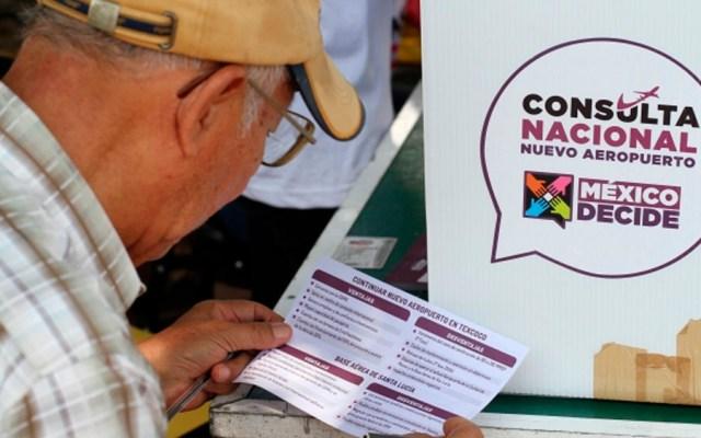 Canaero rechaza participar en consulta sobre NAIM - Consulta ciudadana en la que se decidió cancelar el NAIM. Foto de Notimex