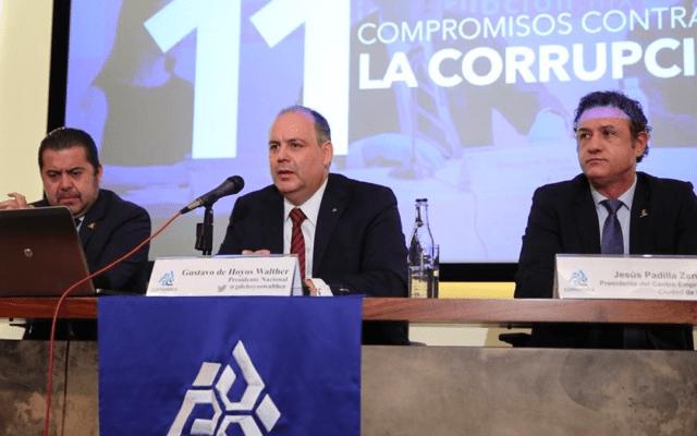 Consulta del NAIM carece de elementos metodológicos: Coparmex - Foto de Milenio