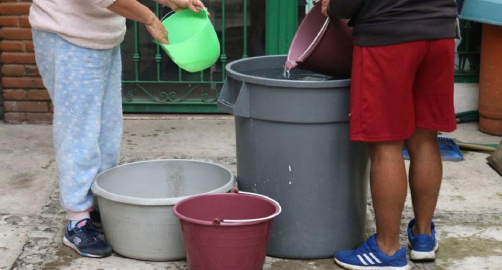 Inicia corte de agua en la Ciudad de México. Noticias en tiempo real
