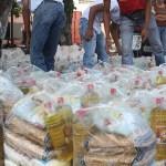 Imputan a cinco por desviar recursos de despensas para Venezuela - Despensas en Venezuela. Foto de Internet