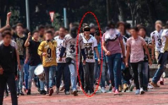 Detienen a otro agresor de estudiantes de la UNAM - Foto Especial