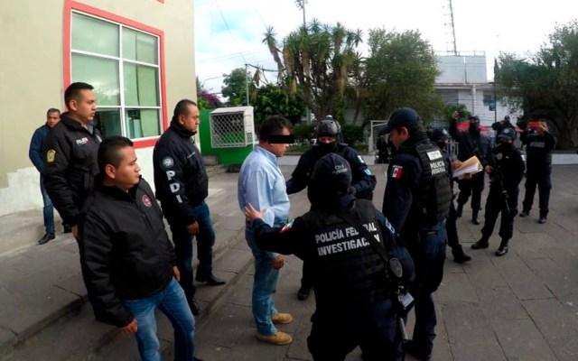 Presentan ante juez a presunto agresor de kínder en GAM - Foto Especial