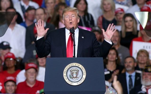 Trump busca terminar con ciudadanía por nacimiento a hijos de indocumentados - Foto de AFP