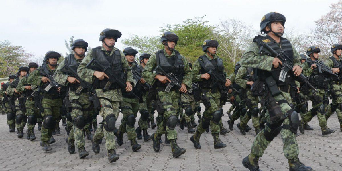 Ejército mexicano toma de protesta lopez obrador