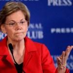 Trump demerita prueba de ADN de demócrata a la que llamó 'Pocahontas' - Elizabeth Warren. Foto de AFP
