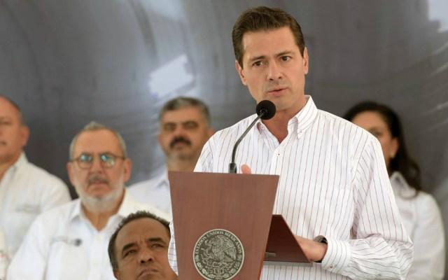 Peña Nieto llama a concluir grandes obras de infraestructura transexenales - Foto de Presidencia