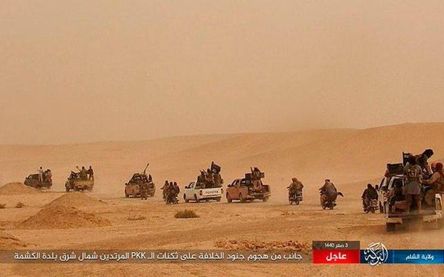 Estado Islámico mata a 41 miembros de coalición apoyada por EE.UU. - Captura de pantalla
