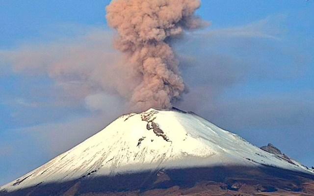 Alertan por actividad del Popocatépetl - Foto de @webcamsdemexico