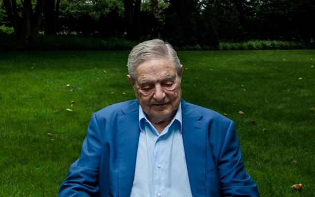 Hallan dispositivo explosivo en casa de multimillonario George Soros - Foto de The New York Times