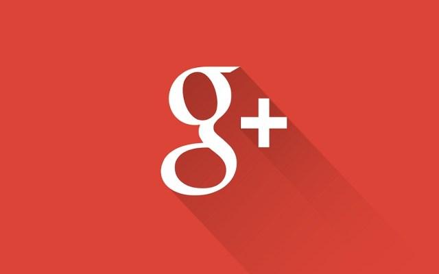 Falla de seguridad en Google+ expuso datos de 500 mil cuentas - Google+ Logo. Foto de internet