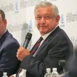 López Obrador se está jugando la confianza del sector privado: Coparmex - Gustavo de Hoyos, titular de Coparmex, con AMLO. Foto de lopezobrador.org