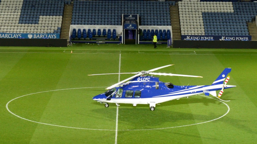 #Video Segunda grabación del accidente del dueño del Leicester City - Leicester City