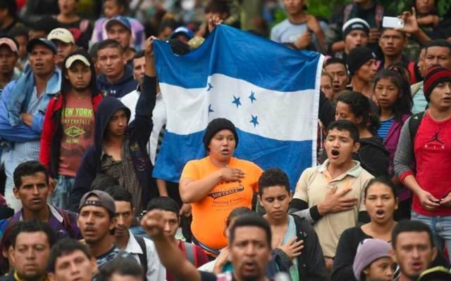 Migrantes hondureños de la caravana deciden quedarse en México - Foto de RCN Radio