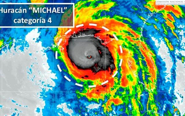 Huracán Michael alcanza categoría 4 - Foto de @conagua_clima