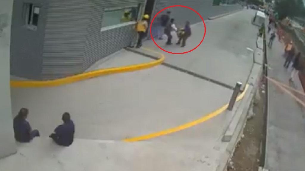 Intento de asalto en Polanco. Captura de pantalla