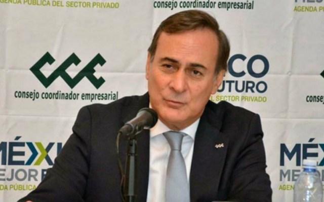 Empresarios se preparan para aprobación del T-MEC - Juan Pablo Castañón mercado nervioso