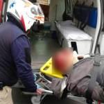 Pasajeros propinan golpiza a presunto asaltante
