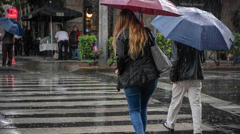 Activan Alerta Naranja en tres alcaldías por lluvia - lluvias chubascos tormentas