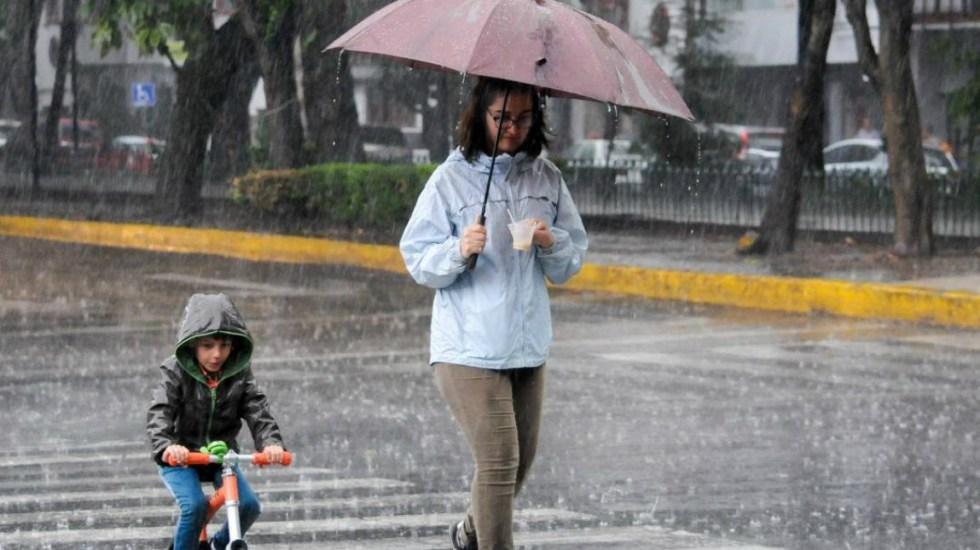 Prevén tormentas en gran parte del país - alerta de lluvia en cuatro alcaldías de la cdmx
