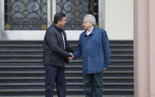López Obrador se reúne con el gobernador de Tamaulipas - Foto de Milenio