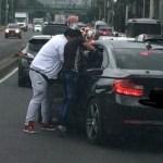 Niños asaltantes de conductores amenazan con fugarse de casas hogar - Niños asaltantes asaltando a conductor en Periférico. Foto de Internet