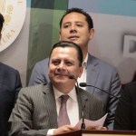Consulta sobre NAIM es ilegal: PRD - Foto de Twitter Manuel Granados