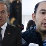 Calderón se lanza nuevamente contra Marko Cortés; lo llama tramposo - Felipe Calderón y Marko Cortés. Foto de Internet