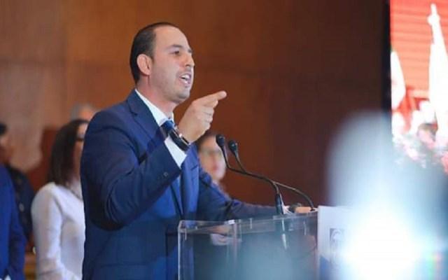 De ser presidente del PAN no se repetirá caso Anaya: Marko Cortés - Marko Cortés. Foto de @MauElizarrarasG
