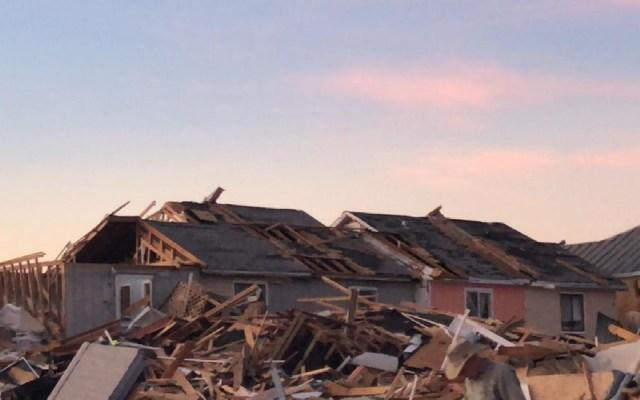 #Video Suman 17 muertos por huracán Michael en EE.UU. - Mexico Beach. Foto de Francisco Villalobos