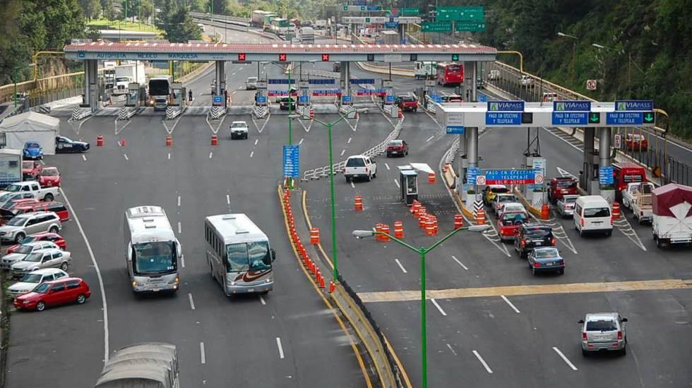 El sábado por la madrugada cerrarán la México-Toluca por obras del Tren Suburbano - Foto de Internet