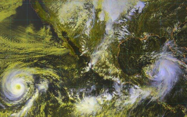Tormenta tropical Michael mantiene en alerta a la cuenca del Atlántico, Caribe y Golfo de México - Foto de Conagua Clima