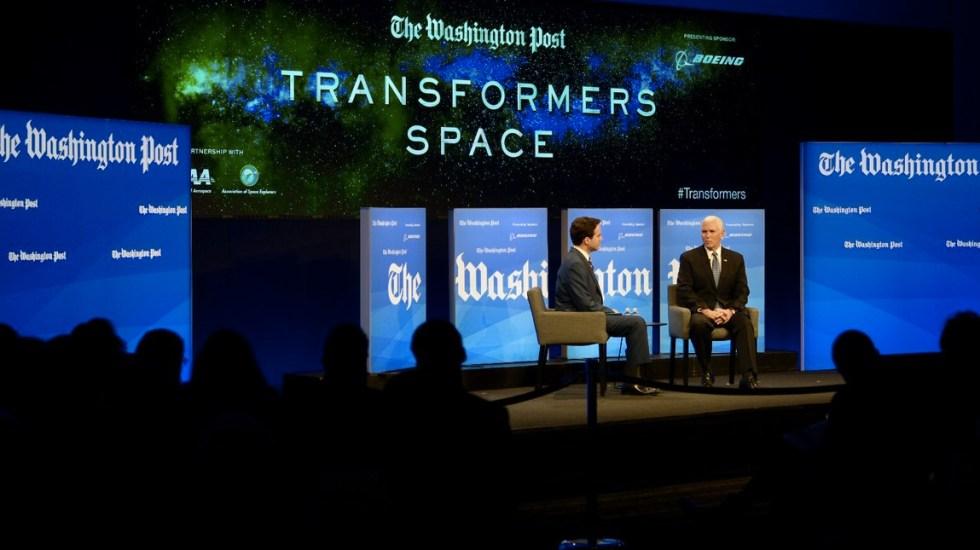 Aspiramos a tener presencia en el espacio como en la Tierra: Mike Pence - Foto de Twitter @VP