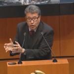 Monreal: prácticas de bancos, cerca de la usura - Ricardo Monreal aceptó a nombre de Morena discutir la cancelación del NAIM en el Senado. Captura de pantalla