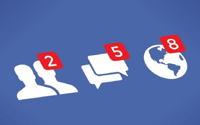 Facebook elimina 810 páginas y perfiles fake - Notificaciones de Facebook. Foto de Internet