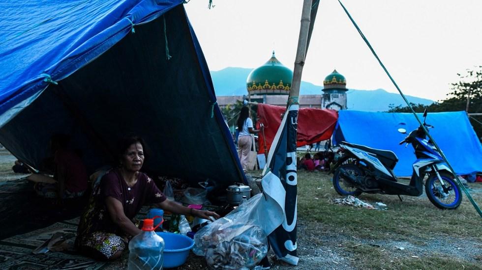 ONU urge ayuda humanitaria para 191 mil personas en Indonesia - Foto de AFP / Jewel Samad