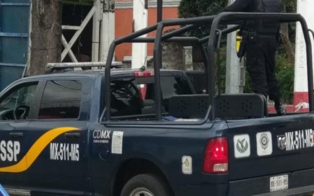 Operativo en Tláhuac deja 28 detenidos - Operativo en Tláhuac deja 28 heridos.  Foto de @alertasurbanas