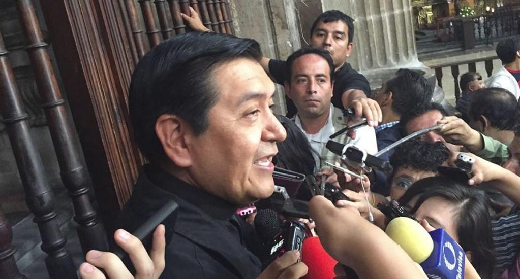 Falso que Norberto Rivera abandone el país: padre Hugo Valdemar - Padre Hugo Valdemar. Foto de Quadratín