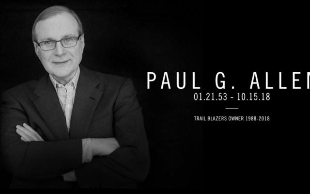 Lamentan NFL y NBA muerte de Paul Allen - Foto de @trailblazers
